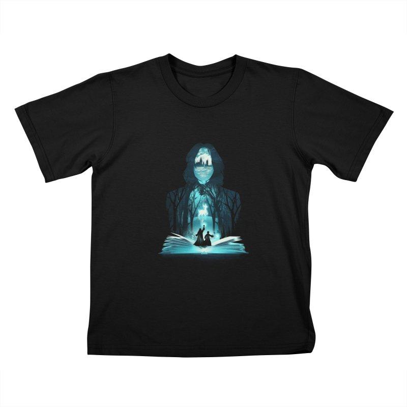 The 6th Book of Magic Kids T-Shirt by dandingeroz's Artist Shop