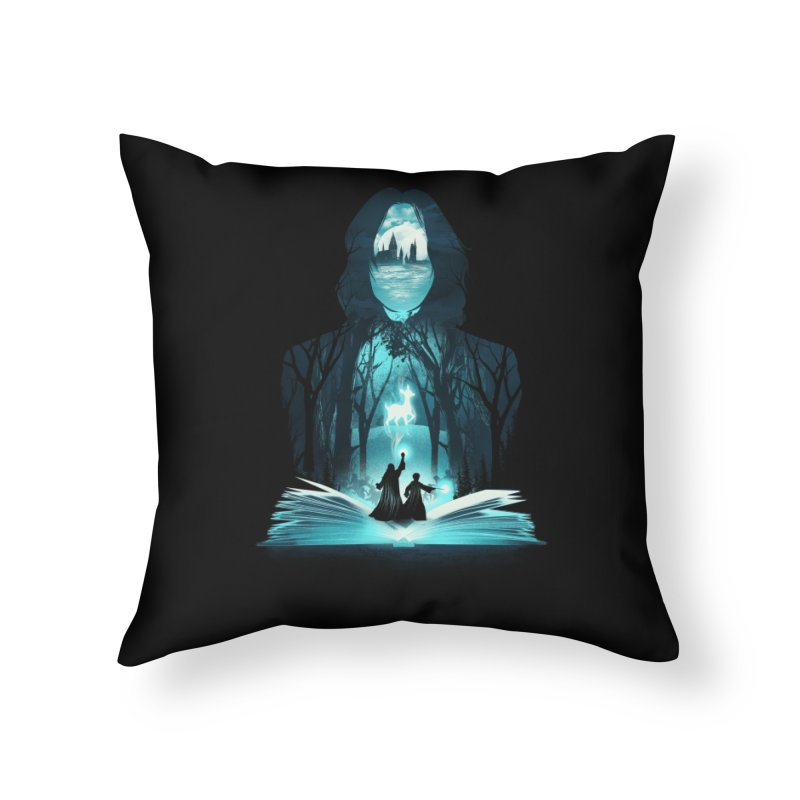 The 6th Book of Magic Home Throw Pillow by dandingeroz's Artist Shop
