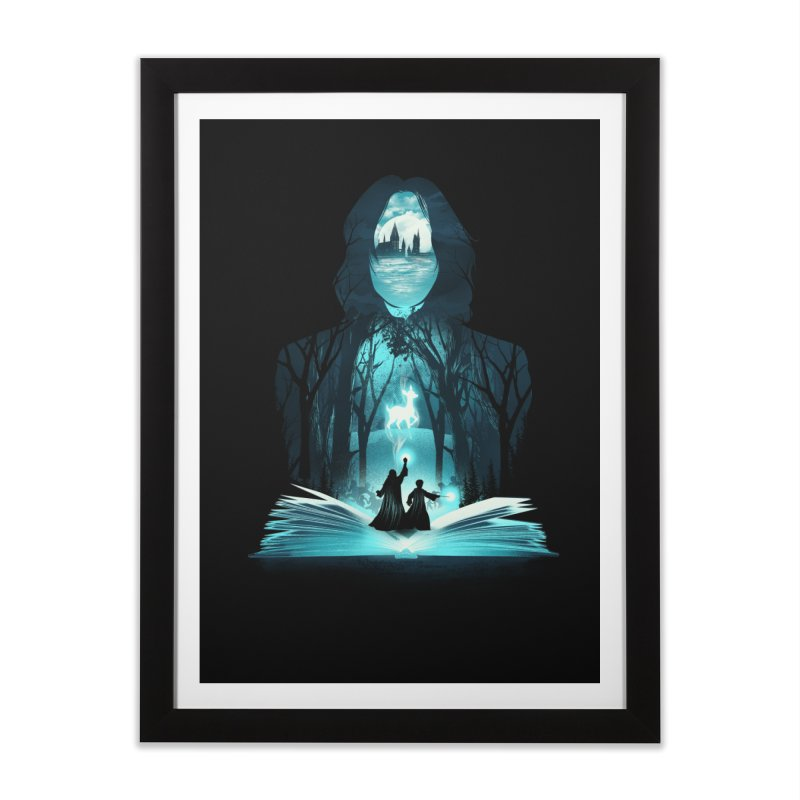 The 6th Book of Magic Home Framed Fine Art Print by dandingeroz's Artist Shop