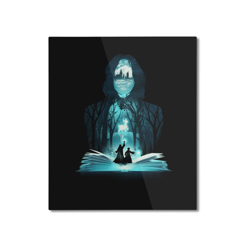 The 6th Book of Magic Home Mounted Aluminum Print by dandingeroz's Artist Shop