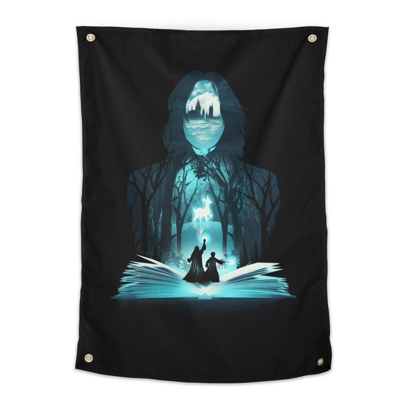 The 6th Book of Magic Home Tapestry by dandingeroz's Artist Shop