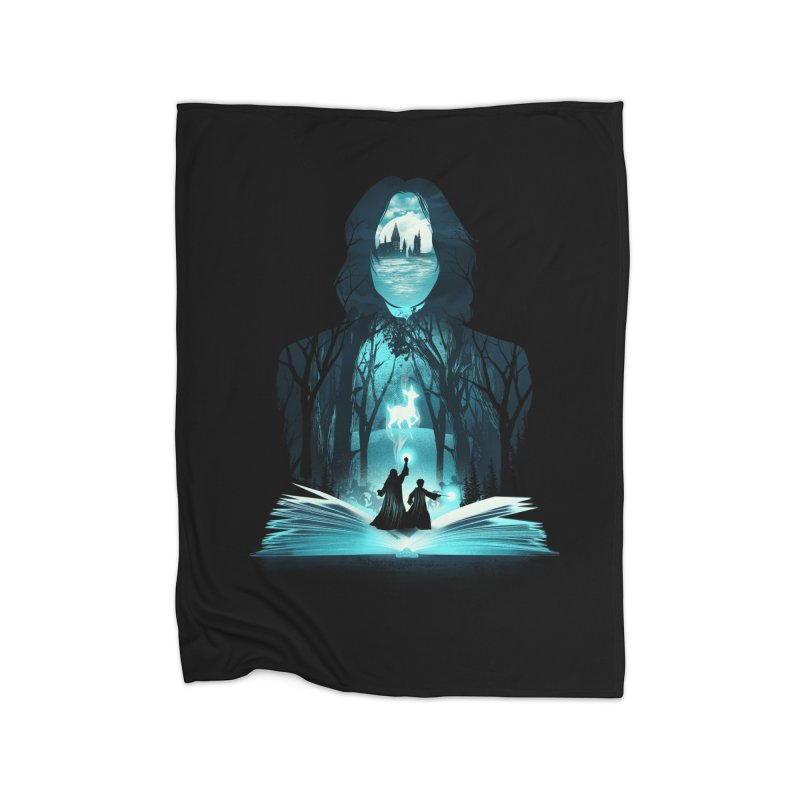 The 6th Book of Magic Home Blanket by dandingeroz's Artist Shop