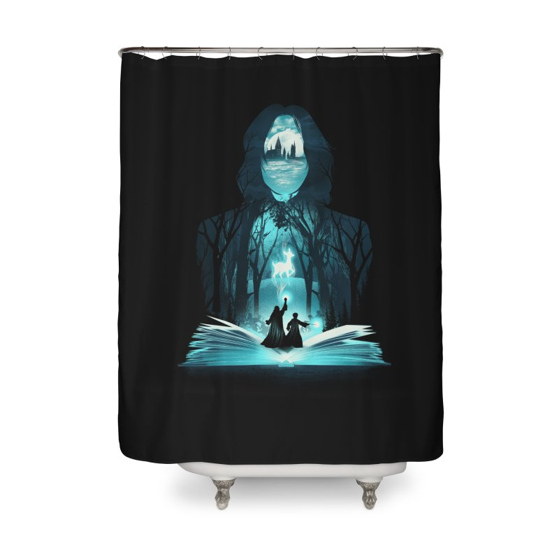 The 6th Book of Magic Home Shower Curtain by dandingeroz's Artist Shop