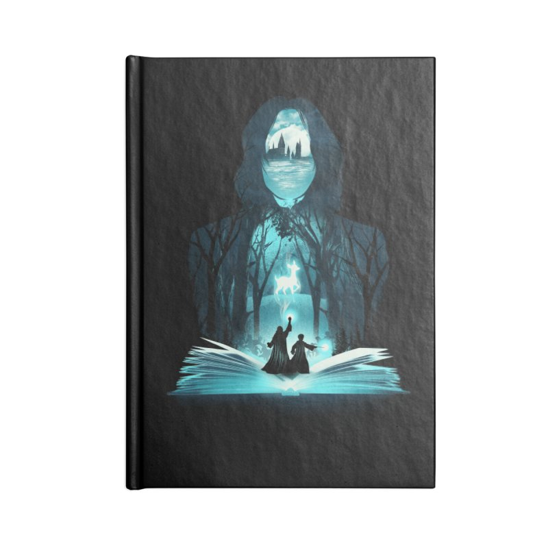 The 6th Book of Magic Accessories Notebook by dandingeroz's Artist Shop