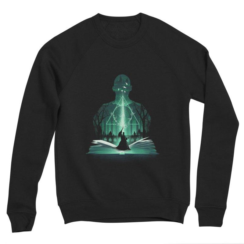 The 7th Book of Magic Men's Sponge Fleece Sweatshirt by dandingeroz's Artist Shop