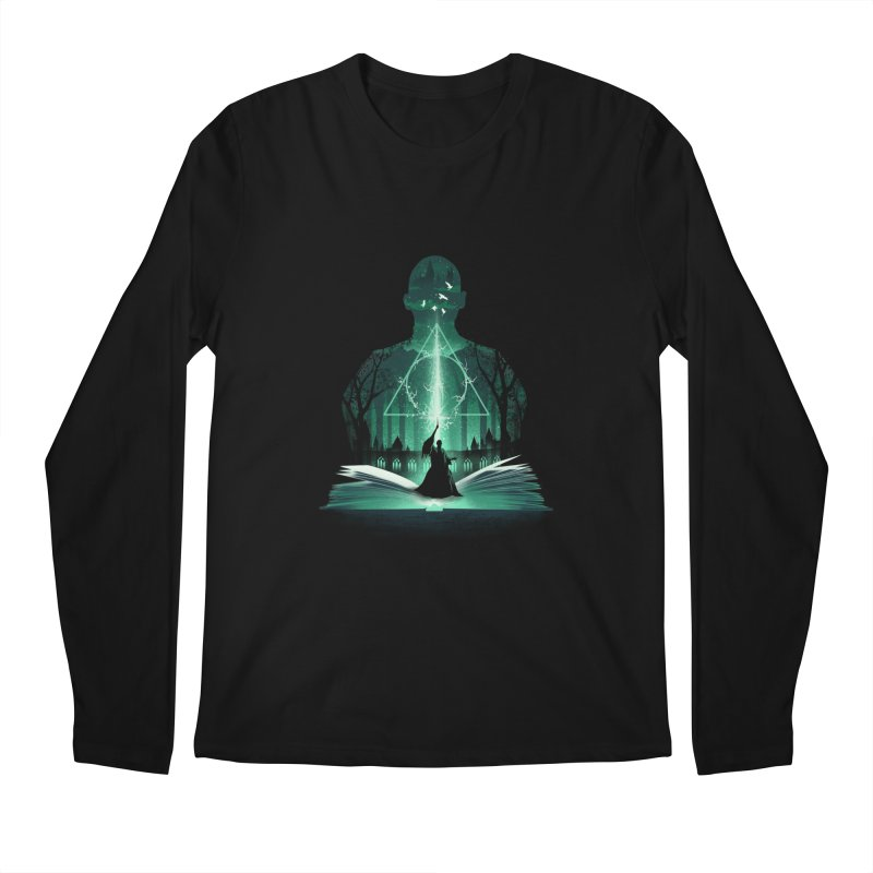 The 7th Book of Magic Men's Longsleeve T-Shirt by dandingeroz's Artist Shop