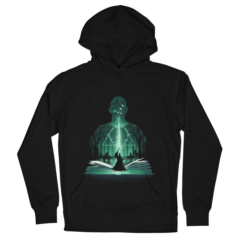 The 7th Book of Magic Men's French Terry Pullover Hoody by dandingeroz's Artist Shop