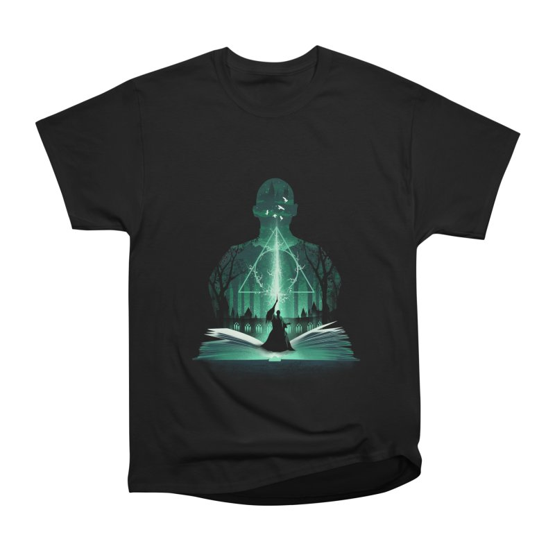 The 7th Book of Magic Men's Heavyweight T-Shirt by dandingeroz's Artist Shop