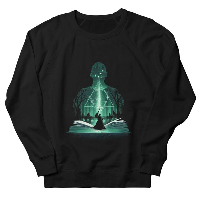 The 7th Book of Magic Men's French Terry Sweatshirt by dandingeroz's Artist Shop