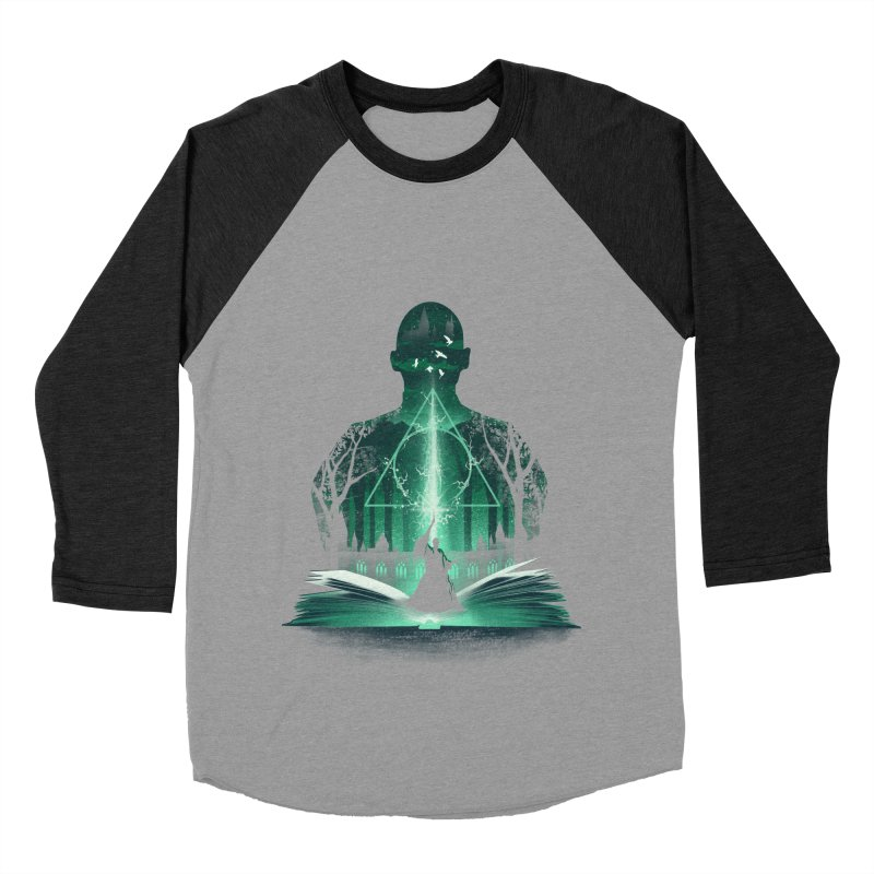 The 7th Book of Magic Men's Baseball Triblend Longsleeve T-Shirt by dandingeroz's Artist Shop