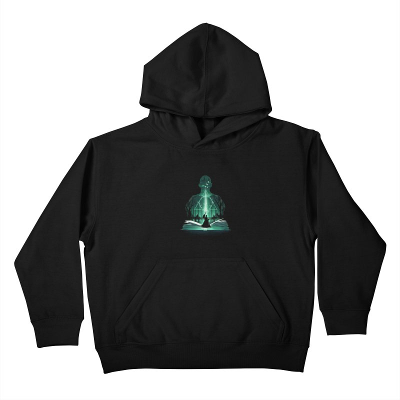 The 7th Book of Magic Kids Pullover Hoody by dandingeroz's Artist Shop
