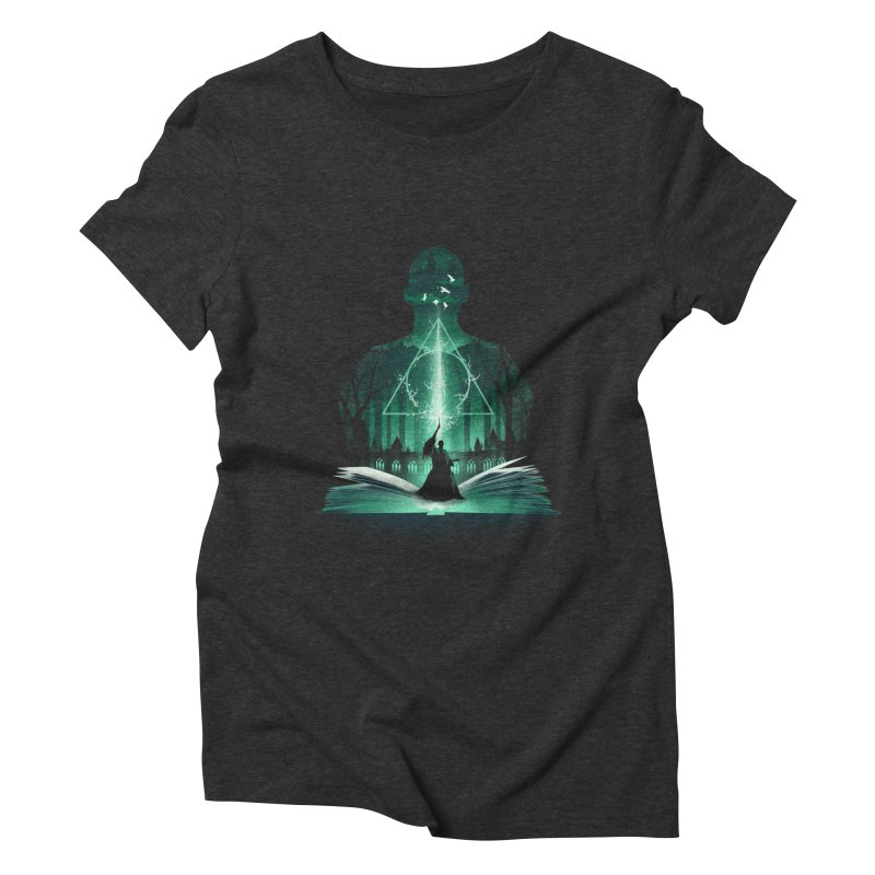 The 7th Book of Magic Women's Triblend T-Shirt by dandingeroz's Artist Shop