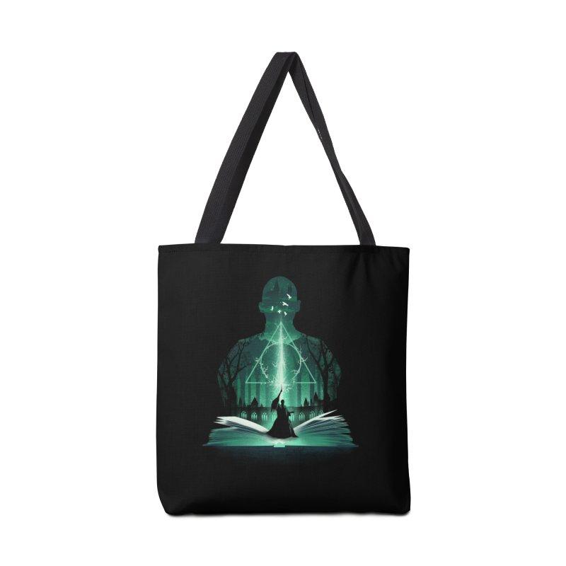 The 7th Book of Magic Accessories Bag by dandingeroz's Artist Shop
