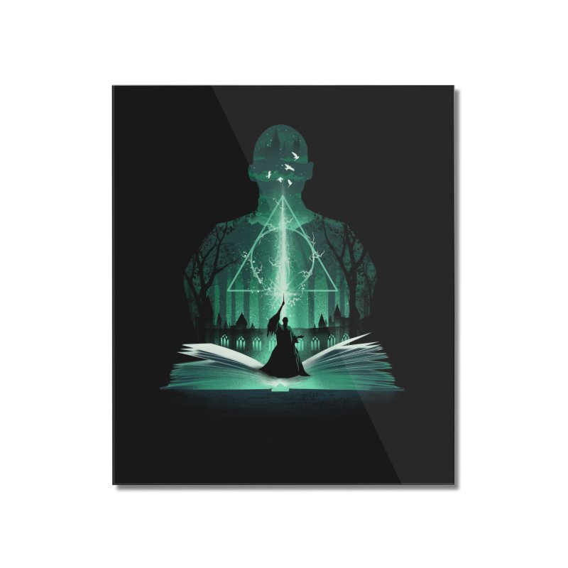 The 7th Book of Magic Home Mounted Acrylic Print by dandingeroz's Artist Shop