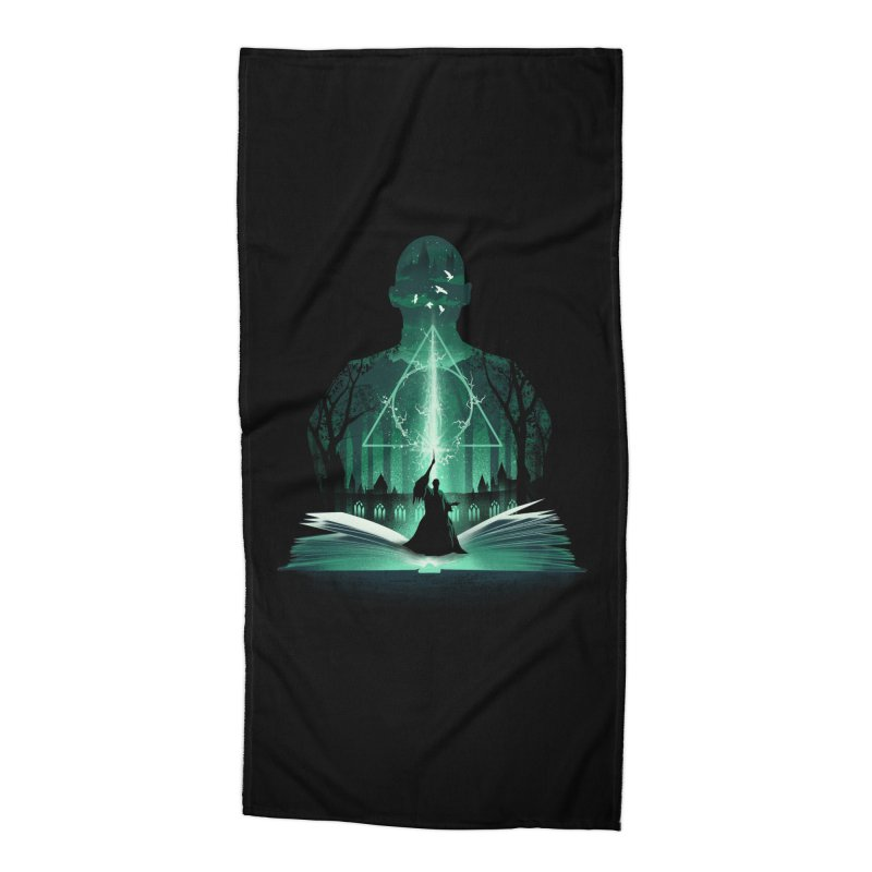 The 7th Book of Magic Accessories Beach Towel by dandingeroz's Artist Shop