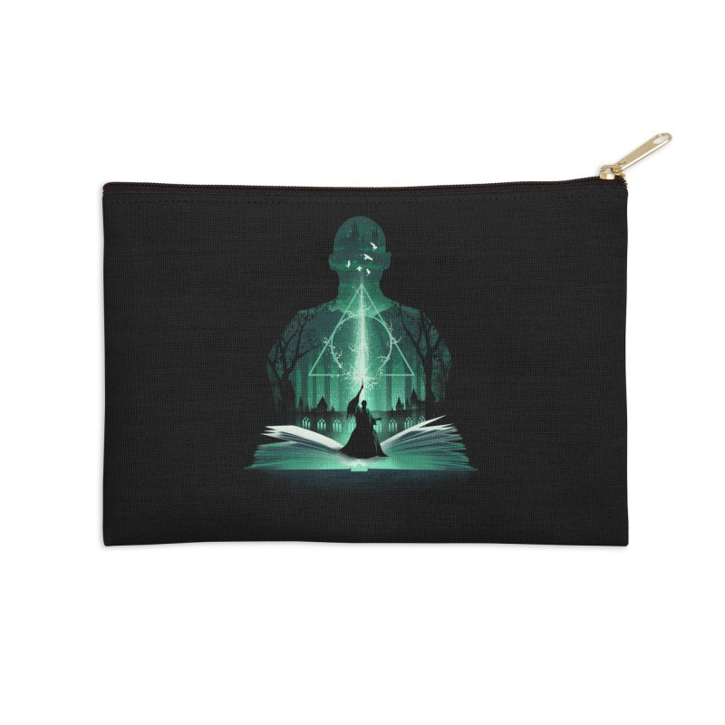 The 7th Book of Magic Accessories Zip Pouch by dandingeroz's Artist Shop