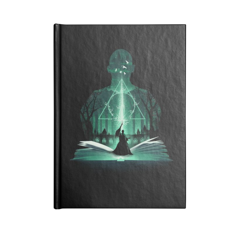 The 7th Book of Magic Accessories Notebook by dandingeroz's Artist Shop
