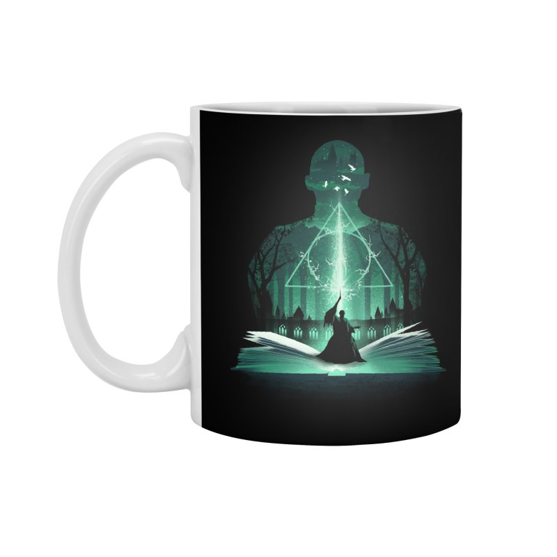 The 7th Book of Magic Accessories Mug by dandingeroz's Artist Shop