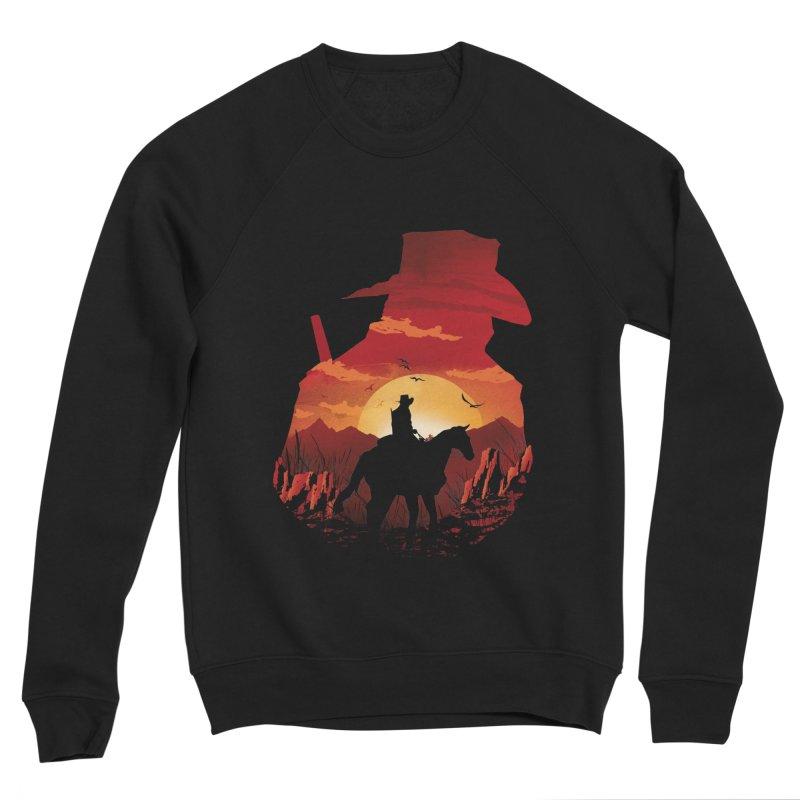 Red Sunset Men's Sponge Fleece Sweatshirt by dandingeroz's Artist Shop