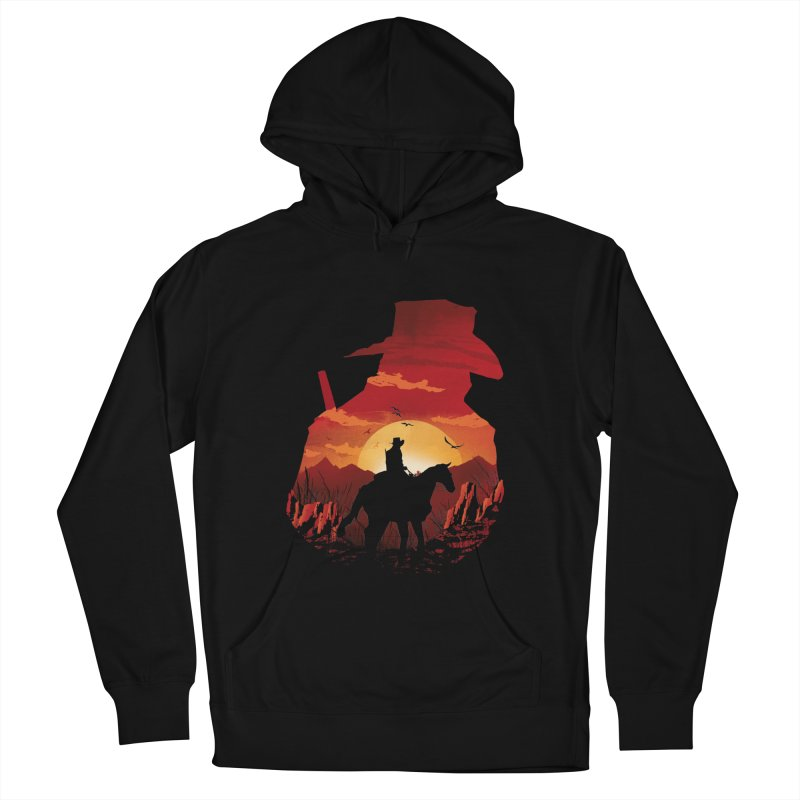 Red Sunset Women's Pullover Hoody by dandingeroz's Artist Shop
