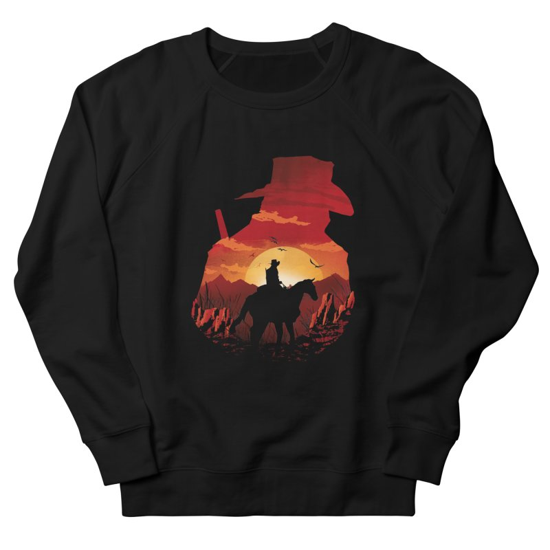 Red Sunset Women's Sweatshirt by dandingeroz's Artist Shop