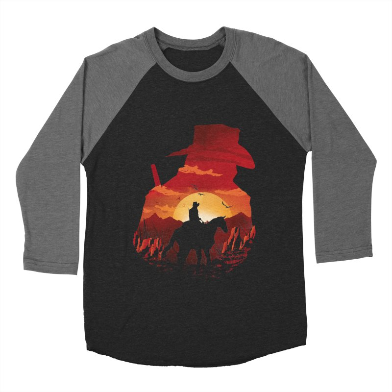 Red Sunset Women's Longsleeve T-Shirt by dandingeroz's Artist Shop