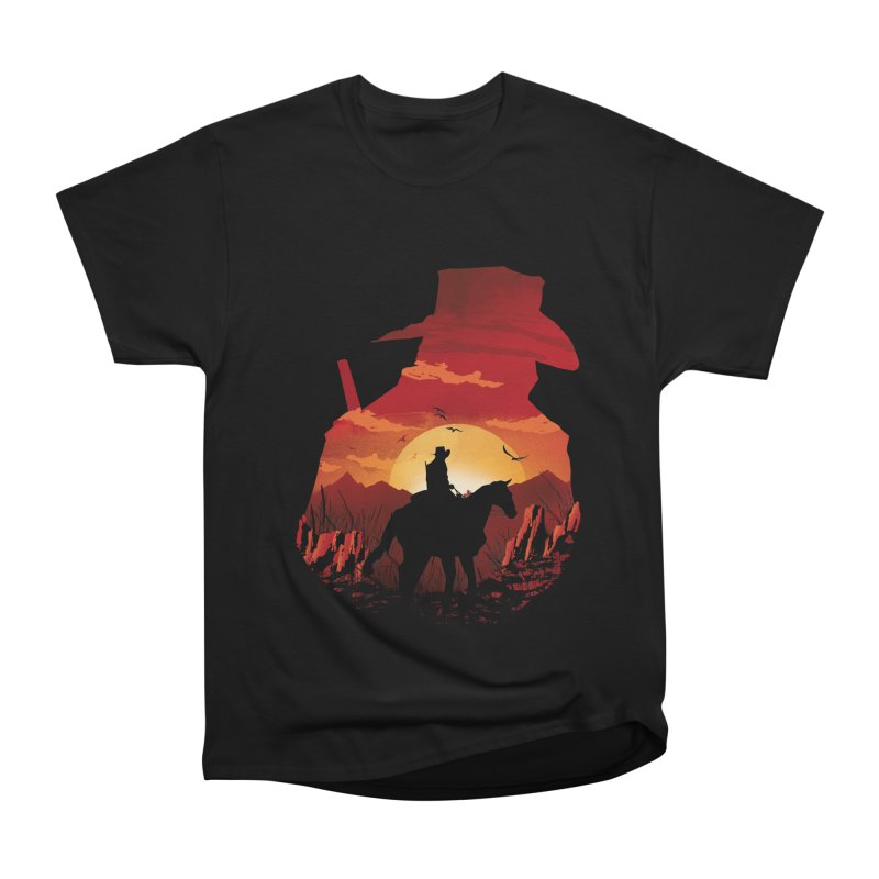 Red Sunset Men's Heavyweight T-Shirt by dandingeroz's Artist Shop
