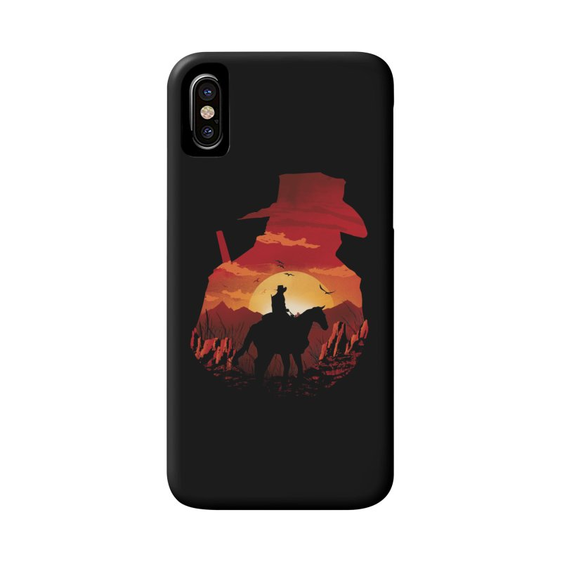 Red Sunset Accessories Phone Case by dandingeroz's Artist Shop