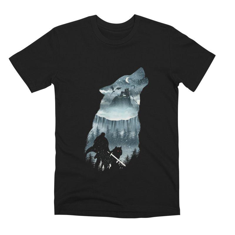 Winter Has Come Men's Premium T-Shirt by dandingeroz's Artist Shop