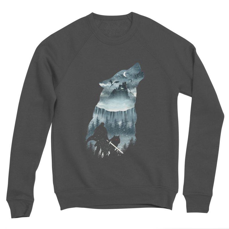 Winter Has Come Men's Sponge Fleece Sweatshirt by dandingeroz's Artist Shop