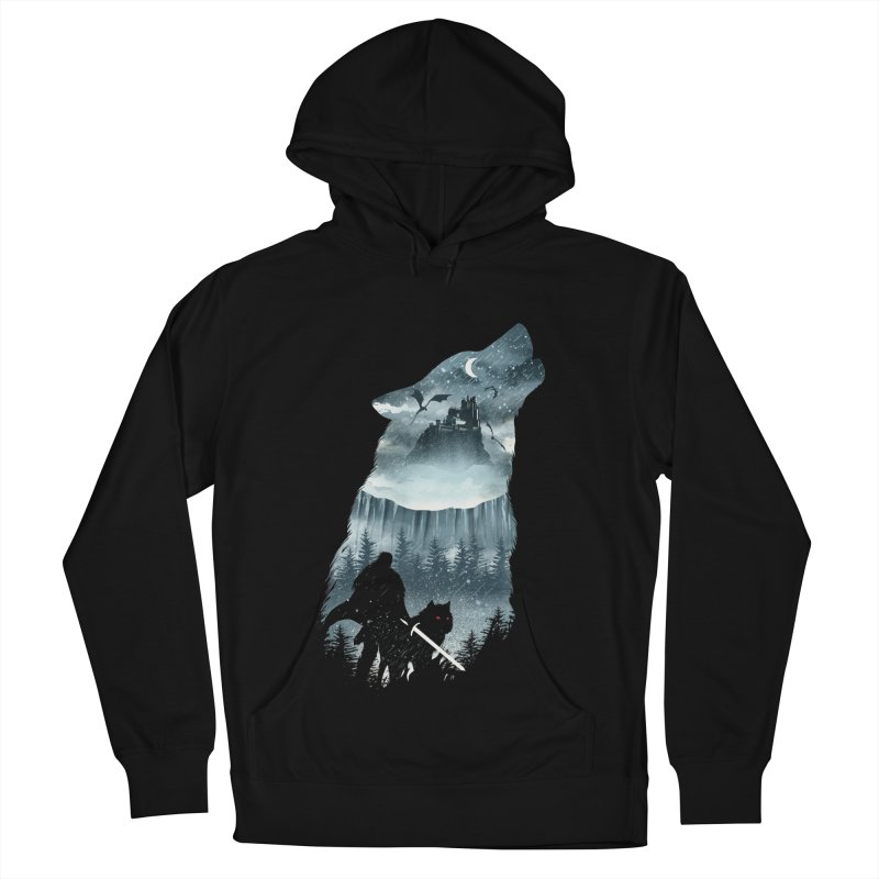Winter Has Come Men's French Terry Pullover Hoody by dandingeroz's Artist Shop