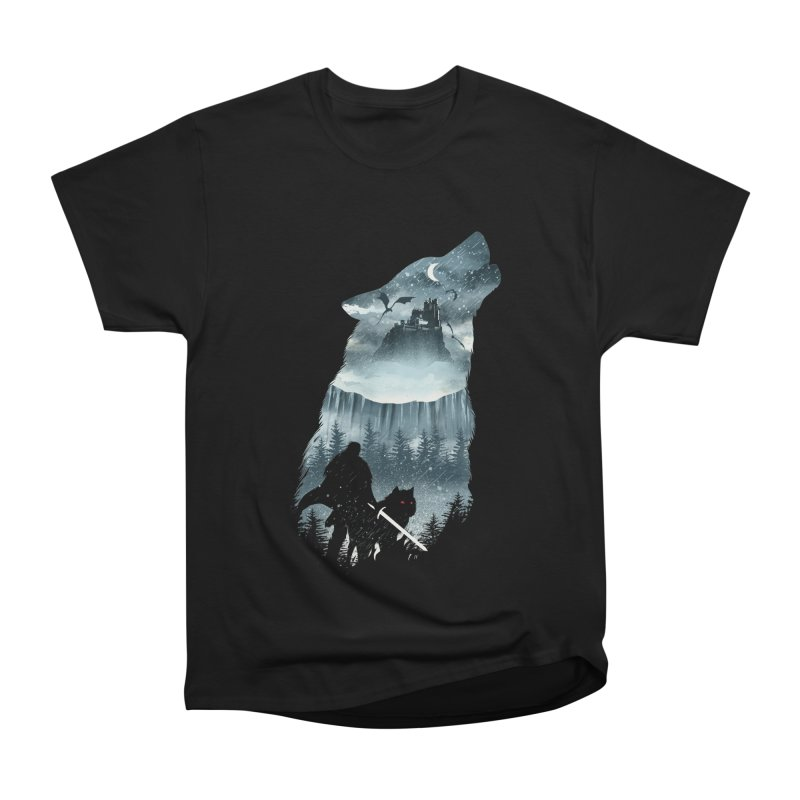 Winter Has Come Women's Heavyweight Unisex T-Shirt by dandingeroz's Artist Shop
