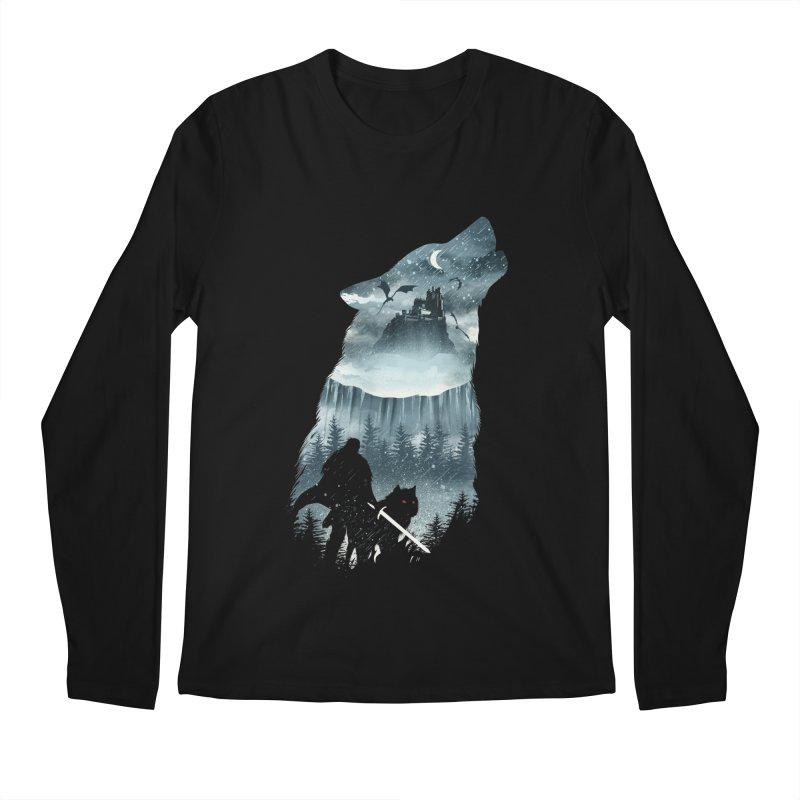 Winter Has Come Men's Regular Longsleeve T-Shirt by dandingeroz's Artist Shop