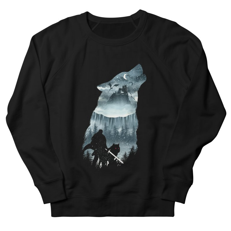 Winter Has Come Men's French Terry Sweatshirt by dandingeroz's Artist Shop