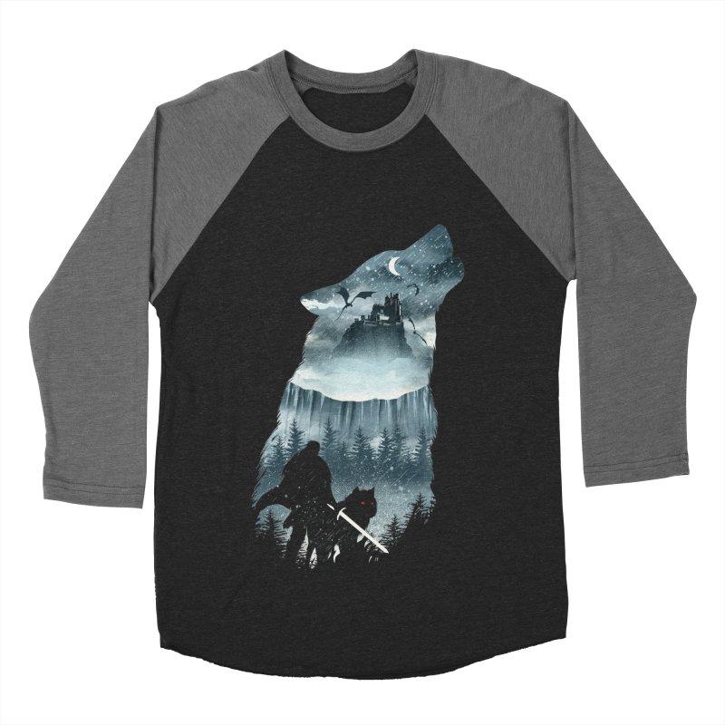 Winter Has Come Women's Baseball Triblend Longsleeve T-Shirt by dandingeroz's Artist Shop