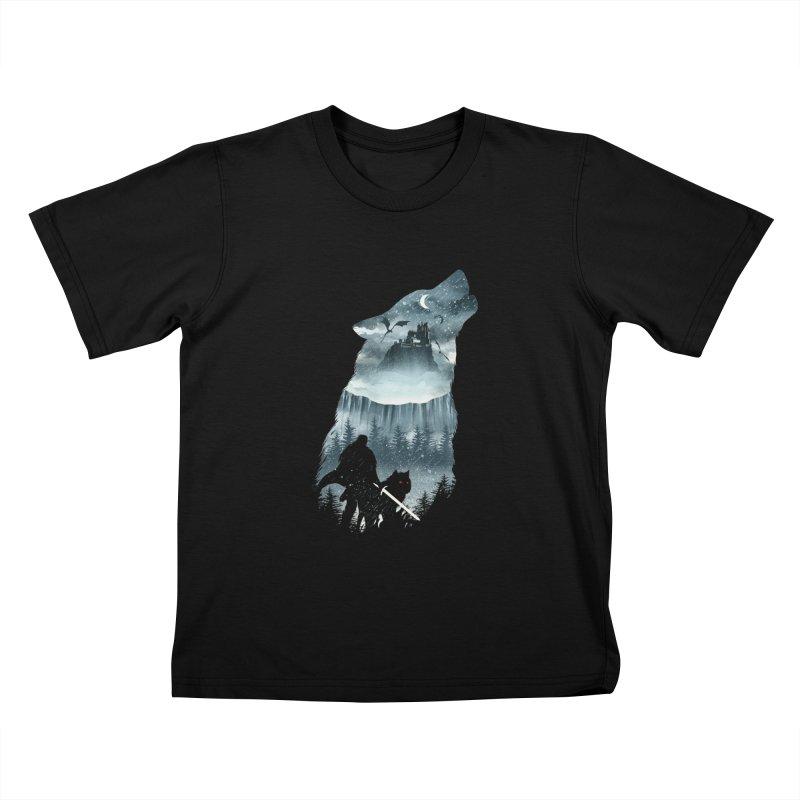 Winter Has Come Kids T-Shirt by dandingeroz's Artist Shop