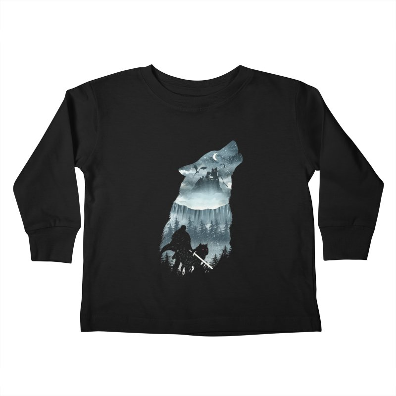 Winter Has Come Kids Toddler Longsleeve T-Shirt by dandingeroz's Artist Shop