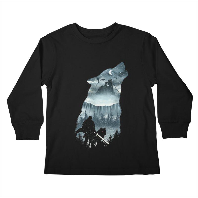 Winter Has Come Kids Longsleeve T-Shirt by dandingeroz's Artist Shop