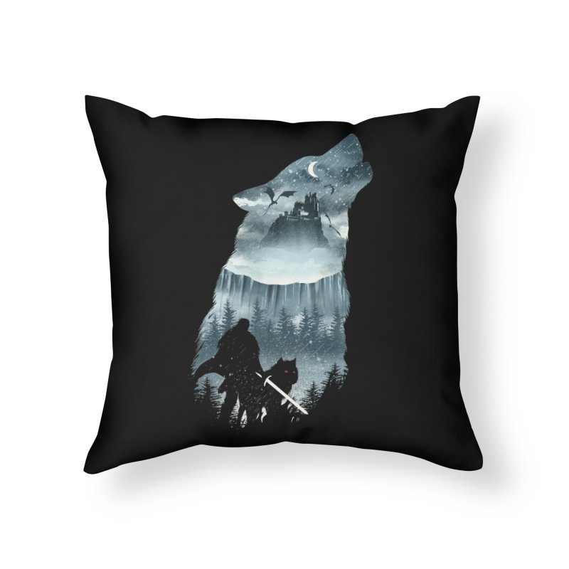 Winter Has Come Home Throw Pillow by dandingeroz's Artist Shop