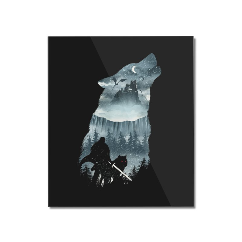 Winter Has Come Home Mounted Acrylic Print by dandingeroz's Artist Shop
