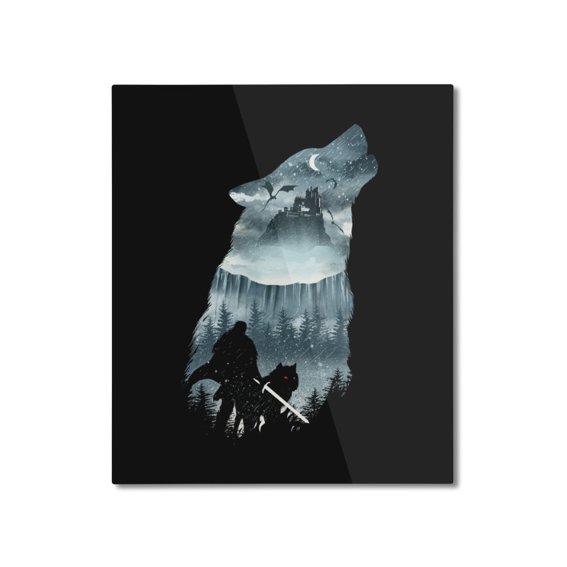 Winter Has Come Home Mounted Aluminum Print by dandingeroz's Artist Shop