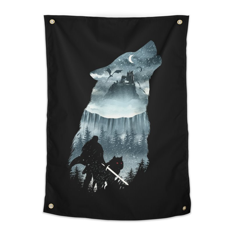 Winter Has Come Home Tapestry by dandingeroz's Artist Shop