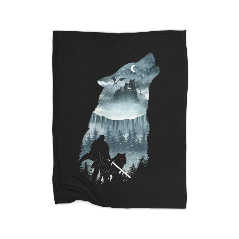 Winter Has Come Home Blanket by dandingeroz's Artist Shop