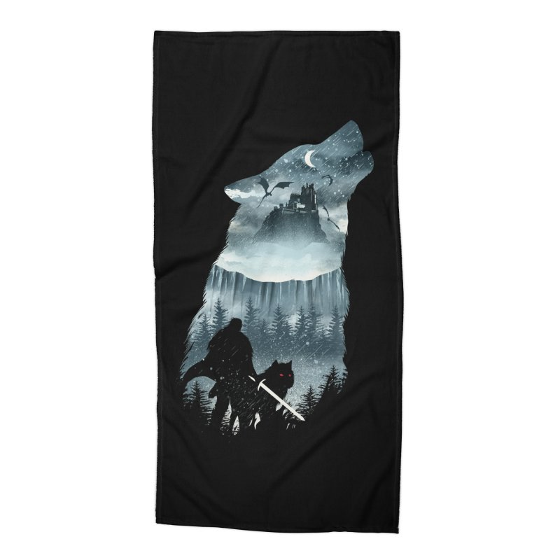 Winter Has Come Accessories Beach Towel by dandingeroz's Artist Shop
