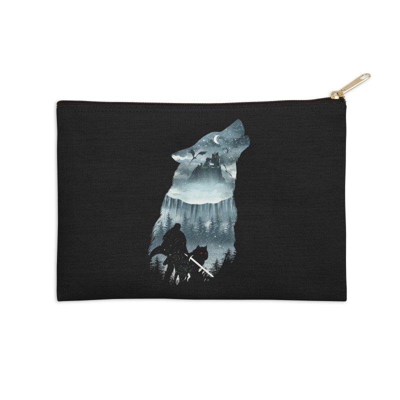 Winter Has Come Accessories Zip Pouch by dandingeroz's Artist Shop