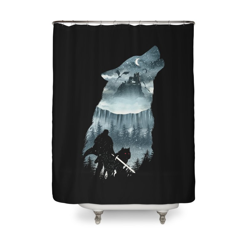 Winter Has Come Home Shower Curtain by dandingeroz's Artist Shop