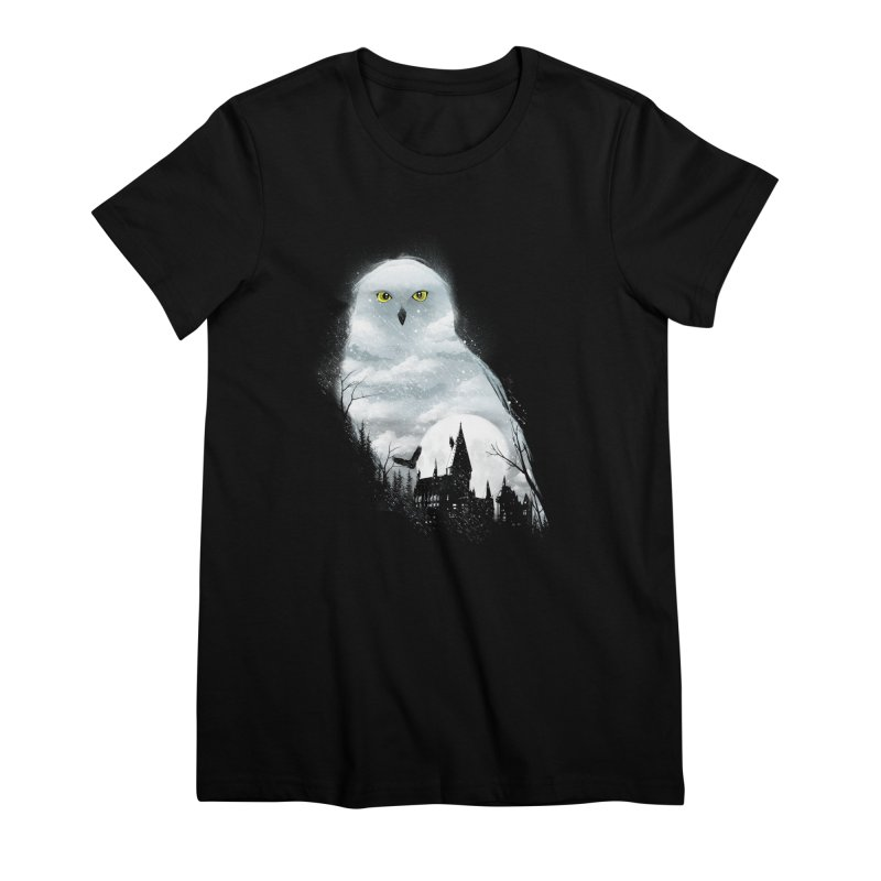 Magical Winter Women's Premium T-Shirt by dandingeroz's Artist Shop