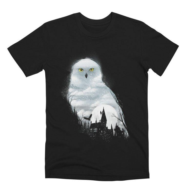 Magical Winter Men's Premium T-Shirt by dandingeroz's Artist Shop