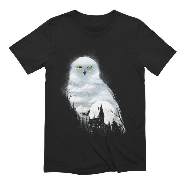 Magical Winter Men's Extra Soft T-Shirt by dandingeroz's Artist Shop