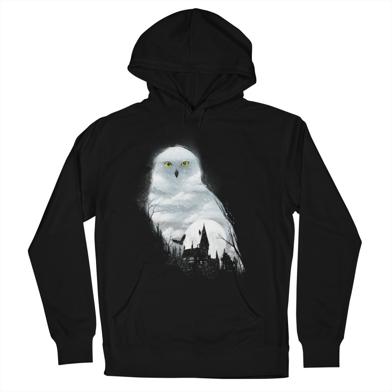 Magical Winter Women's Pullover Hoody by dandingeroz's Artist Shop